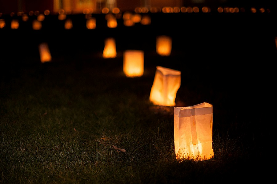 Al Valerio/Cheshire Herald – Luminaries can be seen all throughout Cheshire during the annual Lights of Hope event, scheduled for Nov. 9.