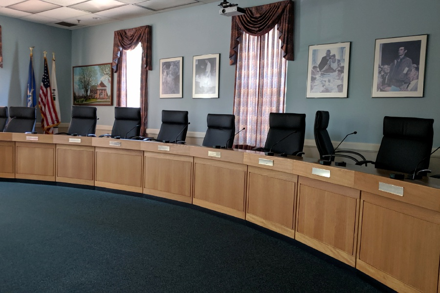 Cheshire Town Hall Council Chambers