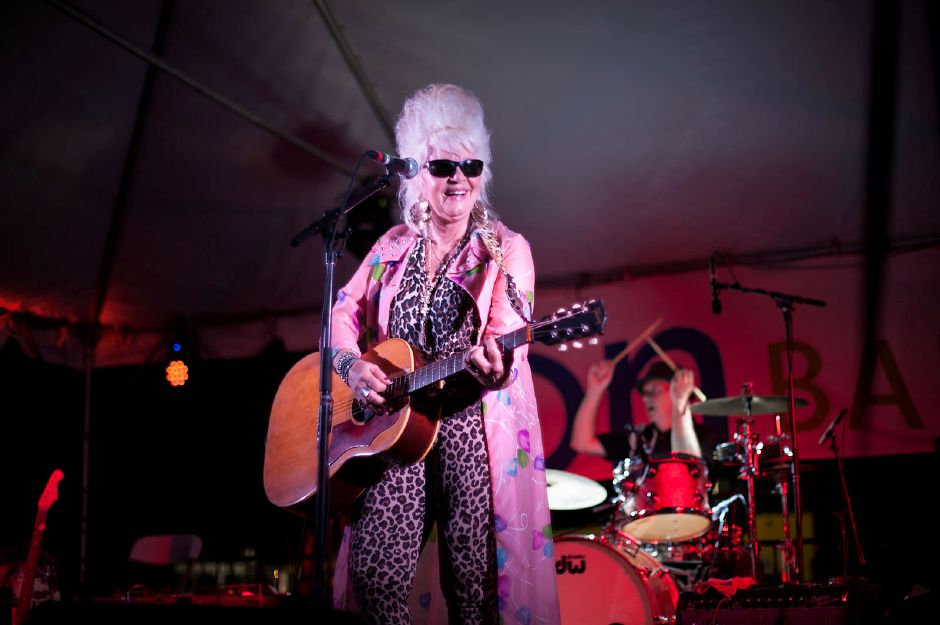 Al Valerio/Cheshire Herald – Cheshire native and famed musician Christine Ohlman will be back on stage Friday, Sept. 13, to help get the Cheshire Fall Festival & Marketplace started.