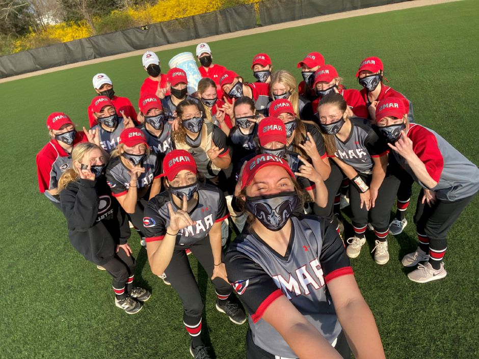 Rams softball has enjoyed a 3-0 start to the spring season. Submitted photo.