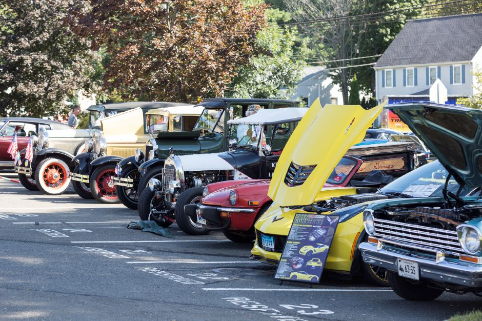 Tracey Harrington/Cheshire Herald – The annual car show, sponsored by Richard Chevrolet, will be expanded for this year's Fall Festival.