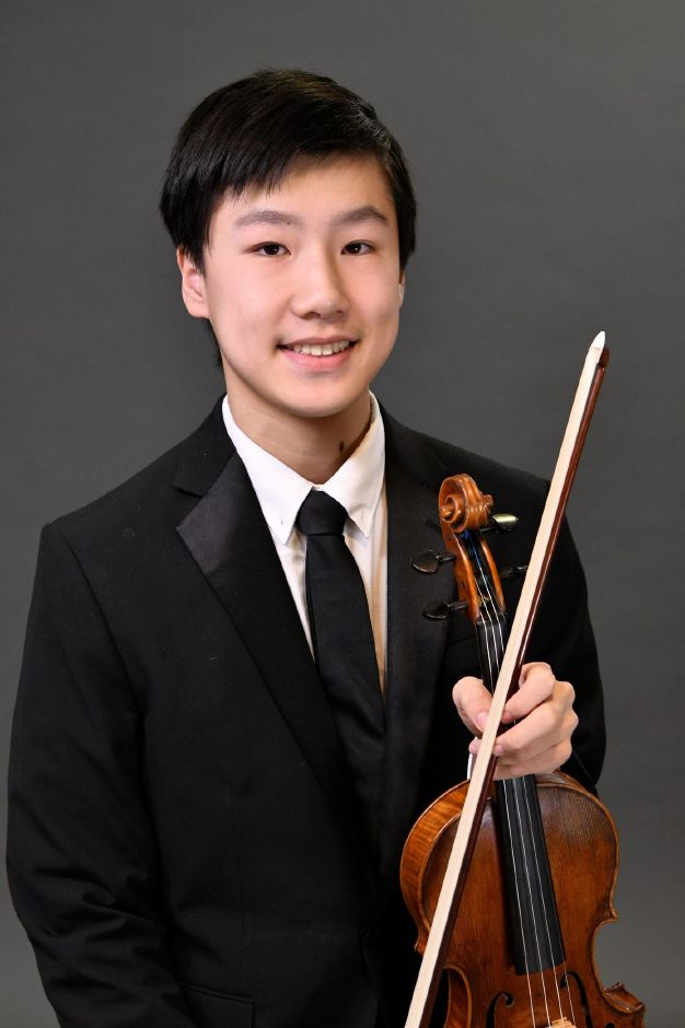 Submitted photo – Cheshire High School Student Tyler Tan was chosen to perform the violin in Carnegie Hall's National Youth Orchestra, which will have a two week residency at Purchase College in New York, and then embark on a national tour.