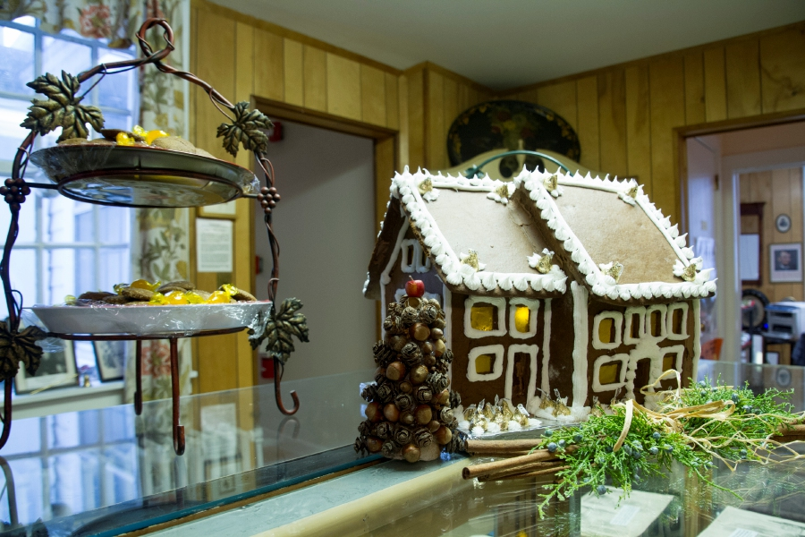 File photo – A Gingerbread House prominently displayed during a recent Cheshire Historical Society Open House event.
