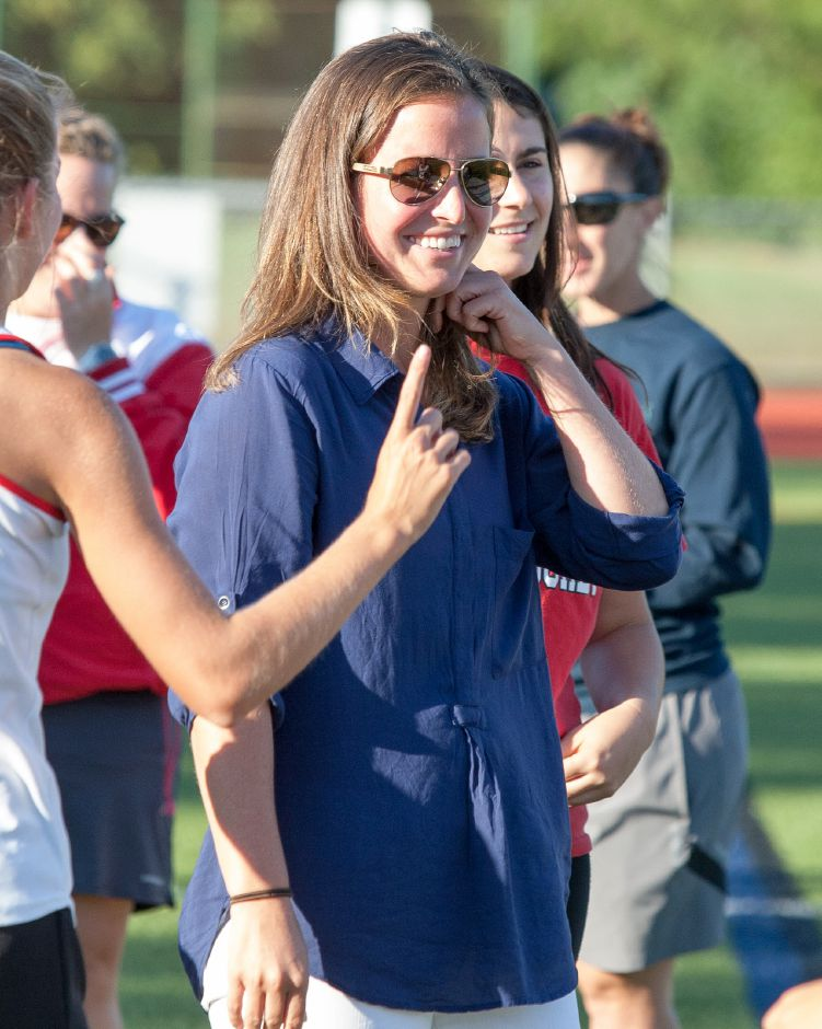 Eileen Wildermann, who has coached Rams field hockey since 2008, has successfully transitioned from teaching English to culinary arts and family consumer science at CHS. File photo.