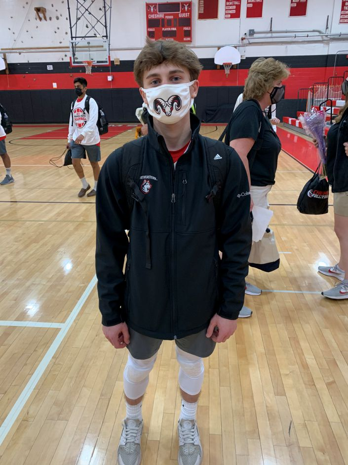 Senior Shea Cronin is playing a key defensive role for Rams boys