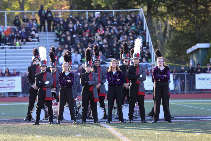 Tracey Harrington/Cheshire Herald – The Cheshire High School Marching Ram Band performed during Music in Motion on Saturday, Oct.5, at Cheshire High School.