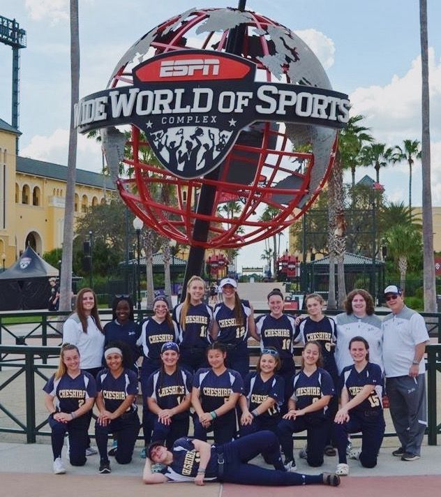 CA softball went 7-0 on their spring training trip to Orlando, Florida. Submitted photo.