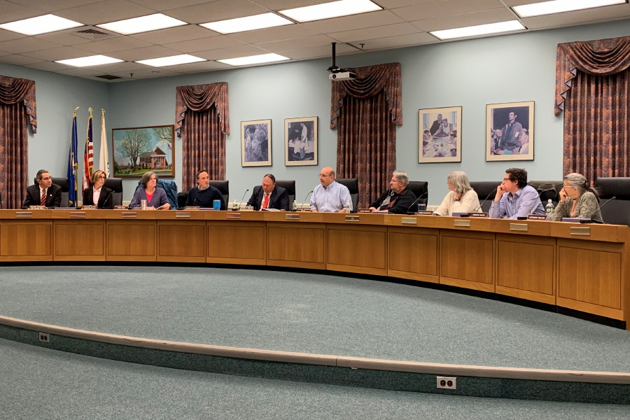 Mariah Melendez/Cheshire Herald – Board of Education gathered on Jan. 9 2020 to listen to Superintendent Jeff Solan's 2020-21 Budget Presentation