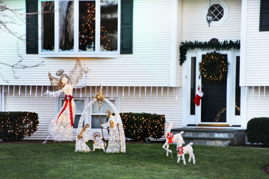 Tracey Harrington/Cheshire Herald - There were a number of impressive Christmas displays this year, as Cheshire residents went all out to bring the holiday cheer.