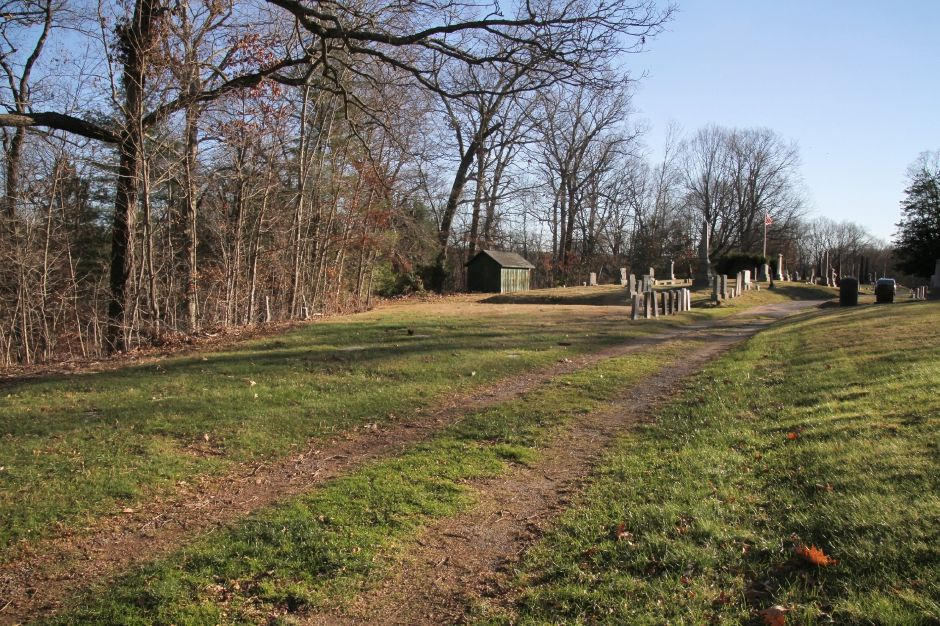 Tracey Harrington/Cheshire Herald - Claims about an old African burial ground in the northeast portion of Hillside Cemetery has become a source of controversy.