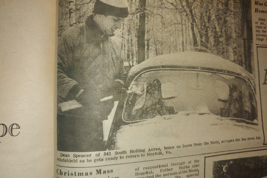File photo - Pictures taken in the aftermath of the 1969 blizzard show how much snow accumulated and how people reacted to the weather.