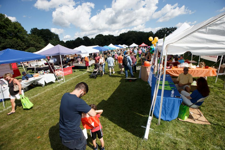 Saturday during the Cheshire Fall Festival in Bartlem Park Cheshire September 15, 2018 | Justin Weekes / Special to the Record-Journal