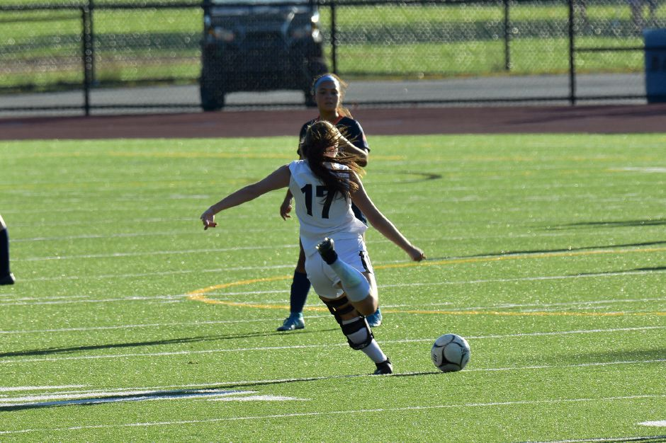 Senior soccer player Izzy Pellegrino has been a four-year starter at CHS. Photo courtesy of Chris Daddi.