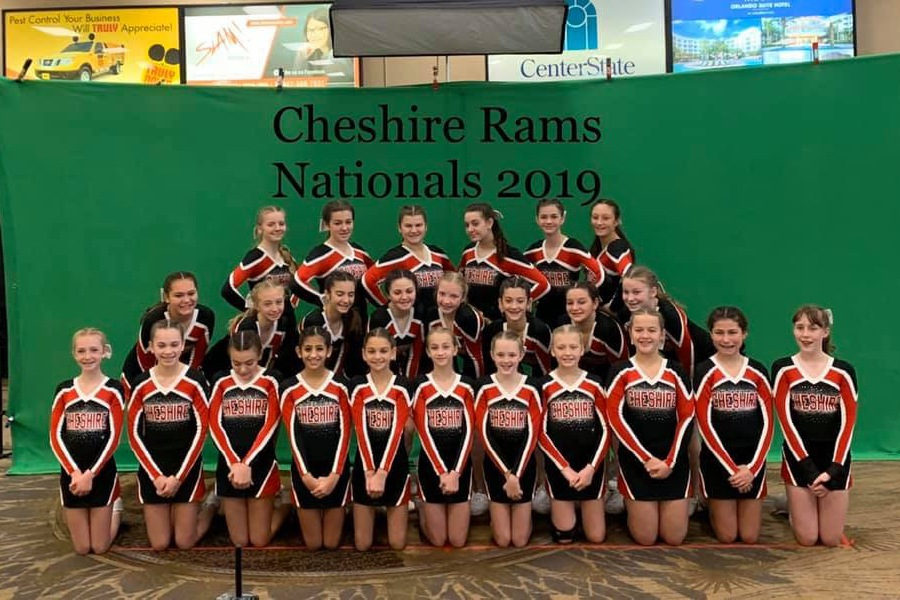 Cheshire Junior Cheerleading earned the program