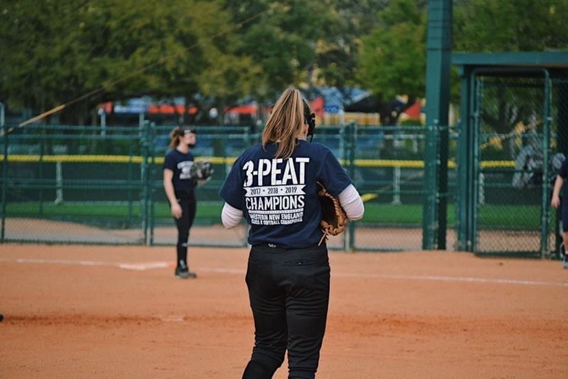 Senior third baseman Riley Norwood will extend her softball at Mount Saint Mary College in New York. Submitted photo.